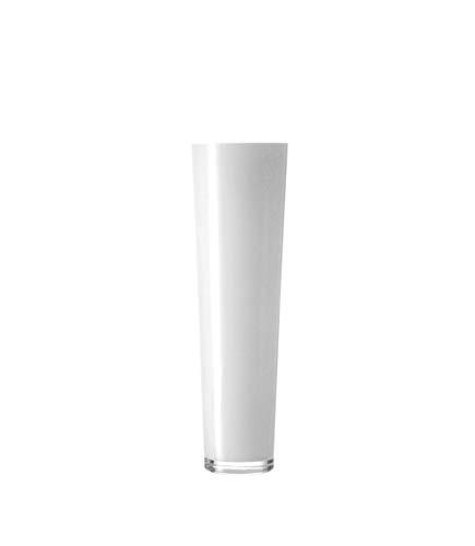 LEONARDO Vase 60 weiß konisch