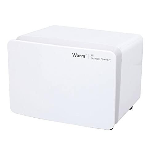 タオルウォーマー KRS-WM8 (前開き) ホワイト 8L 高さ25×幅33×奥行27cm [ タオル蒸し器 おしぼり蒸し器 タオルスチーマー ホットボックス タオル おしぼり ウォーマー スチーマー 小型 業務用 保温器 ]