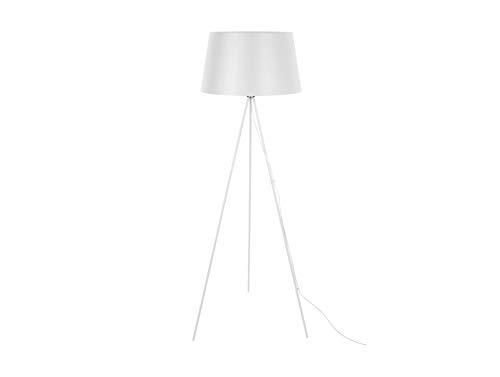 LEITMOTIV vloerlamp Classic Metaal wit, ijzer