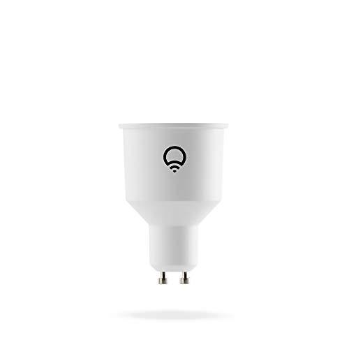 LIFX Colour and White GU10 Wi-Fi Smart LED Light Bulb
