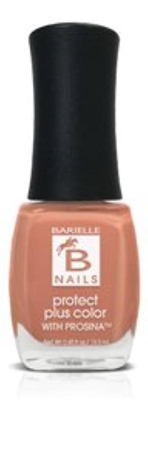 素人アロング裸Bネイルプロテクト+ネイルカラー(プロッシーナ) - シャンパンバブル、タンジェリン