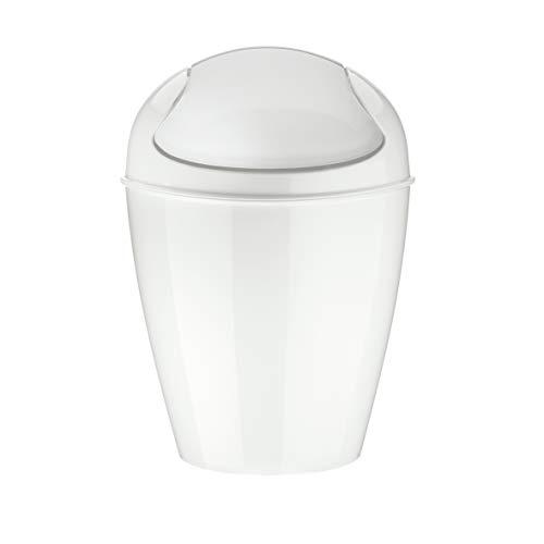 koziol DEL XXS 0.9L Rotondo Bianco cestino