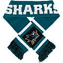 Forever Collectibles Sam Jose Sharks 2012 Team Stripe Scarf