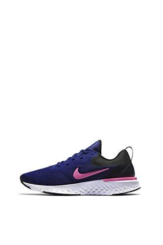 Nike Women's Odyssey React Running Shoe DEEP Royal Blue/Pink Blast-Black-White 6.5
