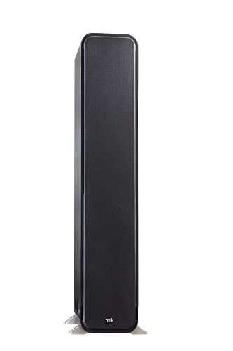 Polk Signature Series S60 Floor Standing Speaker - American HiFi Surround Sound for TV, Music, and Movies | Stylish Looks, Big Sound | Bi-wire and Bi-amp | Detachable Magnetic Grille included