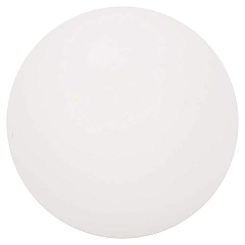 T-Day Pelota de Tenis de Mesa, 6 Piezas ABS Duradero estándar Ejercicio de Entrenamiento de práctica Ping Pong Pelotas de Tenis de Mesa(Blanco)