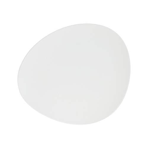 SECRET DE GOURMET Assiette à dessert Gault, 23 cm, noir, couleur : blanc