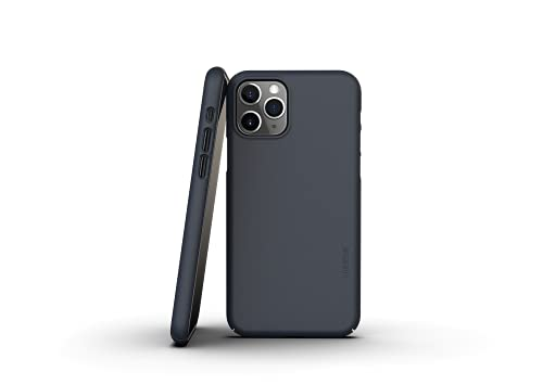 Nudient - Funda fina para iPhone 11 Pro V3 (Midwinter Blue).
