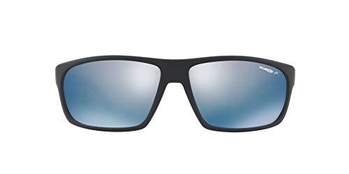 Arnette 0AN4225 01/22 64 Gafas de sol, Negro (Matte Black/Polardarkgreymirrorwater), Hombre