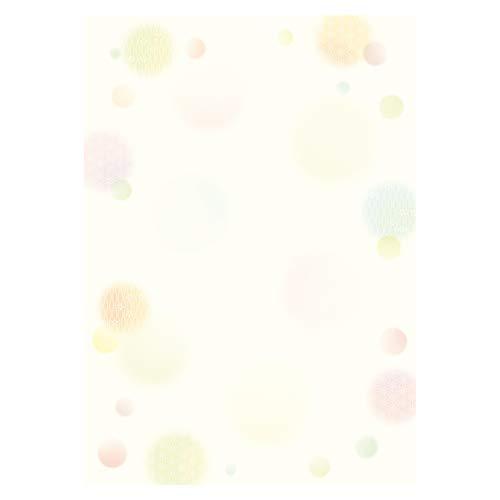 ササガワ 和柄用紙 和ごころ 水玉 4-1027 5個セット