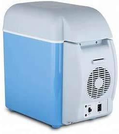 KRAYR 7.5 L Electronic Mini Car Refrigerator Cool Box Cooler Warmer Electric Fridge Heater Refrigerator