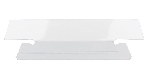 Smead Erasable Hanging File Folder Tabs, 1/3-Cut, White, 25 per Pack (64627) Photo #2