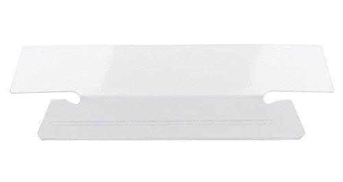 Smead Erasable Hanging File Folder Tabs, 1/3-Cut, White, 25 per Pack (64627) Photo #2