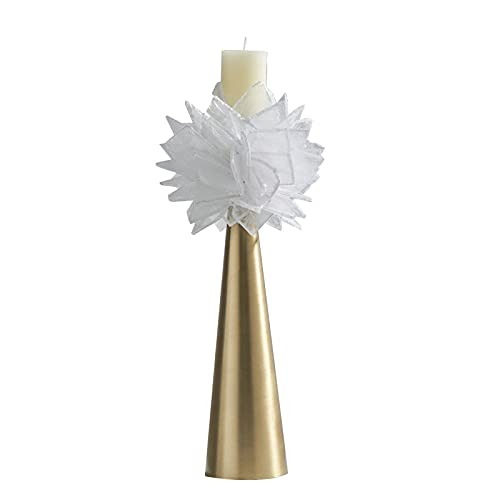 Light luxury living room dashitender office hotel decorations simple high candlestick soft bauble-Candlestick