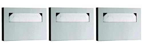 Bobrick Washroom Equipment B-221 Classic Toilet Seat Cover Dispenser Surf - 06-0221 (Pack of 3)