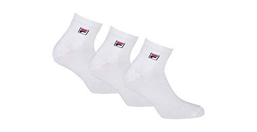 Fila F9303, Socken Uni, weiß, 43/46
