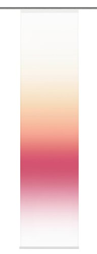 Home Fashion 86108-731 Toledo Panneau Japonais Polyester Fuchsia 245 x 60 cm