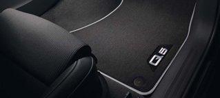 Audi Original Textilfußmatten Premium für vorne und hinten Audi Original Zubehör 8R1061270 MNO