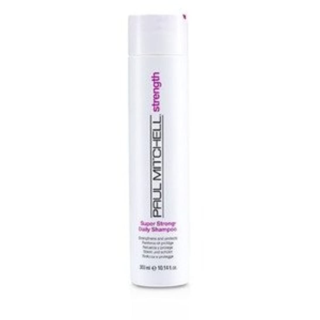 争う登る顕現PAUL MITCHELL(ポールミッチェル) Super Strong Daily Shampoo(Strengtherns and Protects) 300ml/10.14oz [並行輸入品]