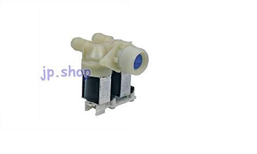 Whirlpool - Electroválvula de lavadora con carga de agua, 2 vías, 180°, 480111100199