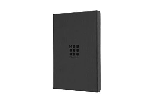 Moleskine - Notebook Classic Pagina a Righe - Taccuino Copertina Rigida in Pelle e Chiusura ad Elastico - Colore Marrone di Siena - Dimensione Large 13 x 21 cm - 176 Pagine