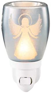 SOLD OUT - SCENTSY NIGHT LIGHT PLUG IN WARMER -SILVER ANGEL -