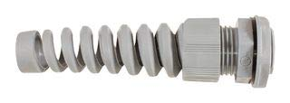 Alpha Wire Cable Gland, Polyamide 6, 3-6.5MM, Slate PPS7 SL080