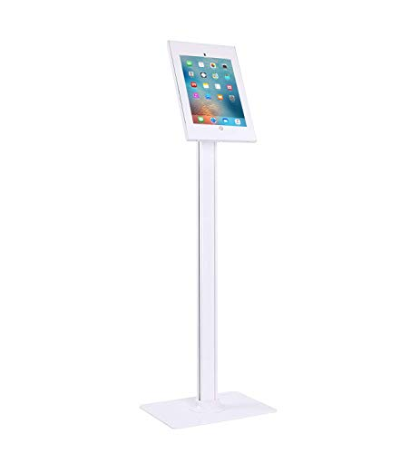 Allcam IPP2604FL Anti-theft Table Floor Stand w/Free-standing Base, compatible with iPad pro 12.9' (4th/3rd Gen, 2020/2018)