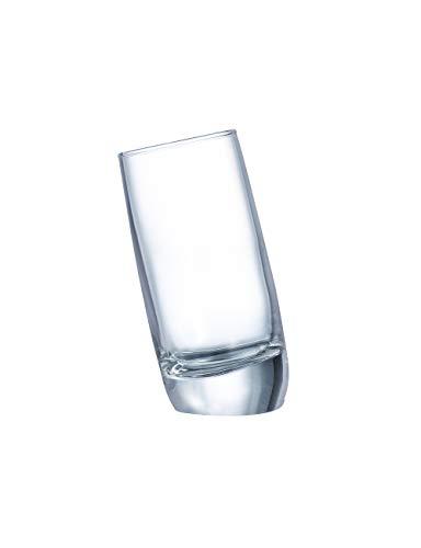 Arcoroc Ludico FH6 bicchierino da grappa 60ml, senza contrassegno di riempimento, 6 Bicchieri