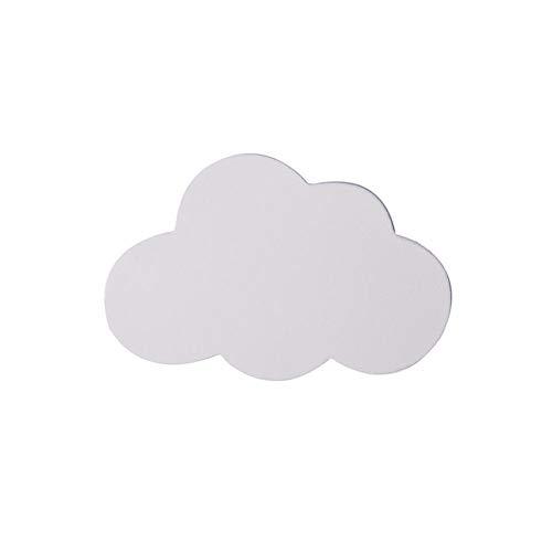 Scandinavische stijl wolk in de vorm van een haak van hout, decoratie voor huis, wand, kunst, ramen, meubels, zelfklevend, kinderen, slaapkamer, decoratie