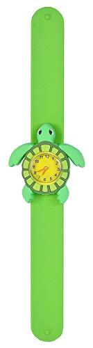 Wild Republic Sea Turtle, Slap Bracelets for Kids, Toy Watch, Educational Toys, 9 inches, Multi (22008)