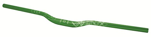WAG Manubrio MTB Oversize Alluminio 780 mm 10 Gradi Verde (Manubri MTB) / Handlebar MTB Oversize Aluminium 780 mm 10 Degrees Green (Handlebars MTB)