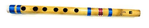 Indische Bambusflöte für Anfänger und Profis, 25,4 cm und 27,9 cm, Querflöte, Bansuri-Klarinette, Musikinstrument 11 inch E Scale Fipple