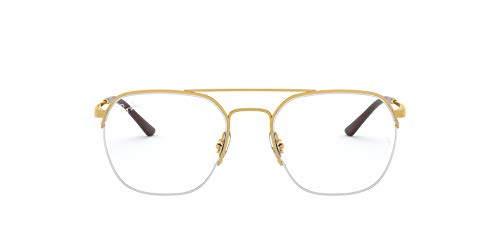 Ray-Ban Unisex RX6444-2500-53 Brillenfassungen auf Rezept, Mehrfarbig, 53