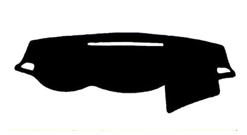 QIQIBAIHUO Dashboard del Coche Mat Pad Dash Sun Shade Carpet Fit para Mitsubishi L200 Triton Strada Strakar Barbarian Fiat Fullback RAM 1200 2015-2020 (Color Name : Black(Blue Edge))