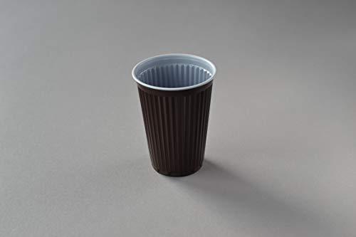3000 Stück Thermobecher, 0,18 l braun Automatenbecher Kaffeebecher Heißgetränkebecher Plastikbecher Trinkbecher