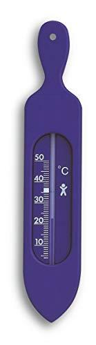 TFA Dostmann 14.3018.06 Analoges Badethermometer blau