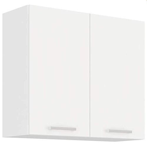EKO White Hängeschrank 80 Weiss matt Küchenzeile Küchenblock Küche Einbauküche