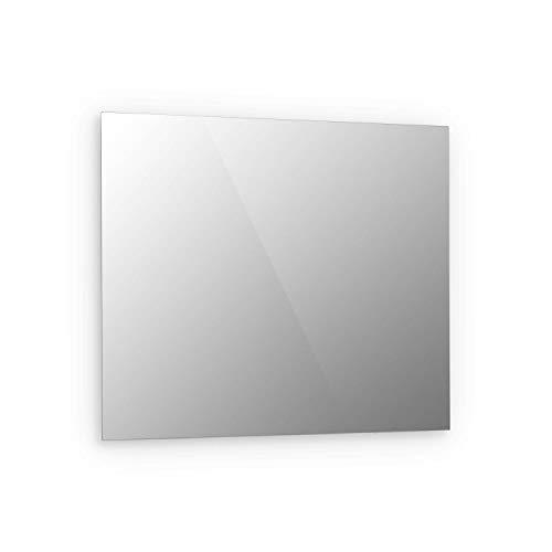Klarstein Marvel Mirror Infrarotheizung Elektroheizung Heizstrahler, Spiegeloberfläche, 60 x 70 cm, 360 Watt, Wandinstallation, automatische Abschaltfunktion, gehärtetes Sicherheitsglas, rechteckig