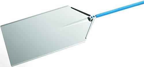 Pala pizza a metro di GiMetal in alluminio anodizzato 40x80 cm con manico 1.20 mt, diametro 40x80 cm