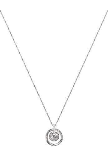 JETTE Damen-Kette 925er Silber rhodiniert 66 Zirkonia One Size Silber 87544656