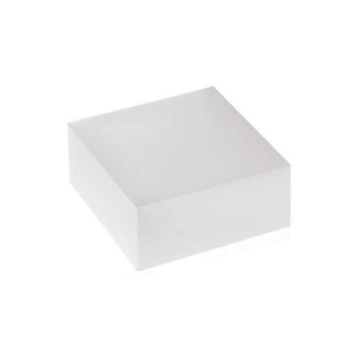 House of Marie 4 Cup Cakebox, Blanc