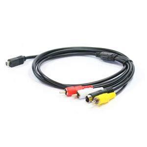 Cable vídeo VMC-15FS / VMC-30FS para Sony Handycam Cable Video