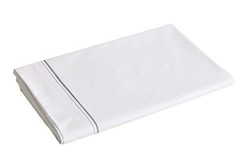 Blanc des Vosges Histoire Marine Drap 240 x 300 cm - Percale 100% Coton 80fils/cm²