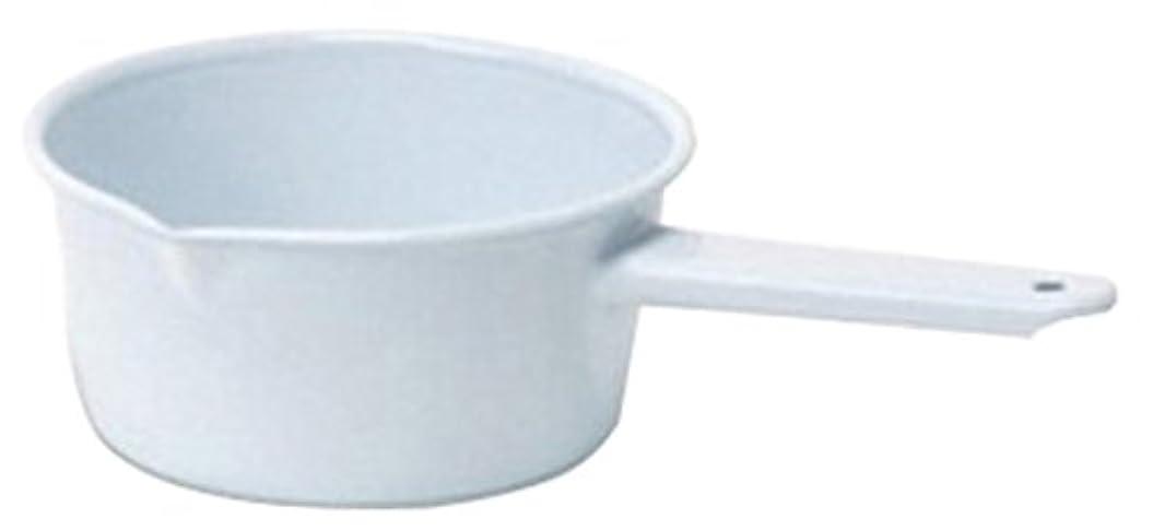 現在仮定、想定。推測カバーPOSH LIVING(ポッシュリビング) ホーロー 片手鍋 ソースパンL ホワイト 541L