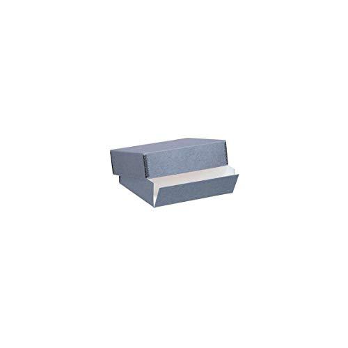 Lineco Museum Storage Box blue-gray-holds size 20 x 24 x 3 inch