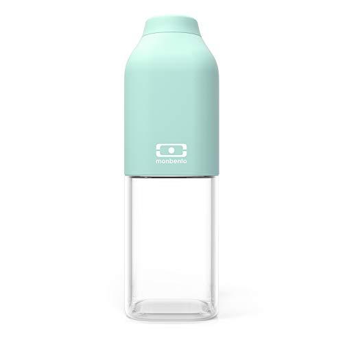 monbento - MB Positive M grün Matcha Trinkflasche bpa frei - 0,5 L - Tritan Trinkflasche