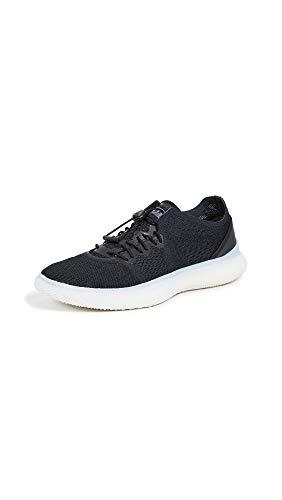 adidas by Stella McCartney Women's Pureboost Trainer Sneakers, Black/Solid Grey, 8.5 Medium US