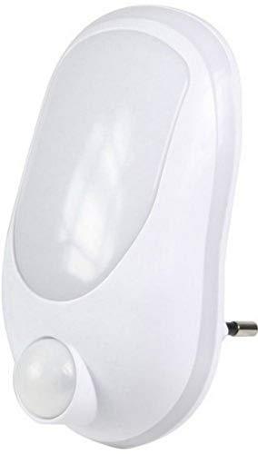 Ranex 10.013.04 LED Nachtlicht mit Bewegungsmelder, Tag/Nacht Sensor - 0,4 Watt