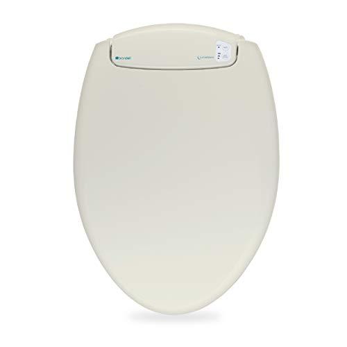 Brondell L60-EB LumaWarm Heated Nightlight Elongated Toilet Seat